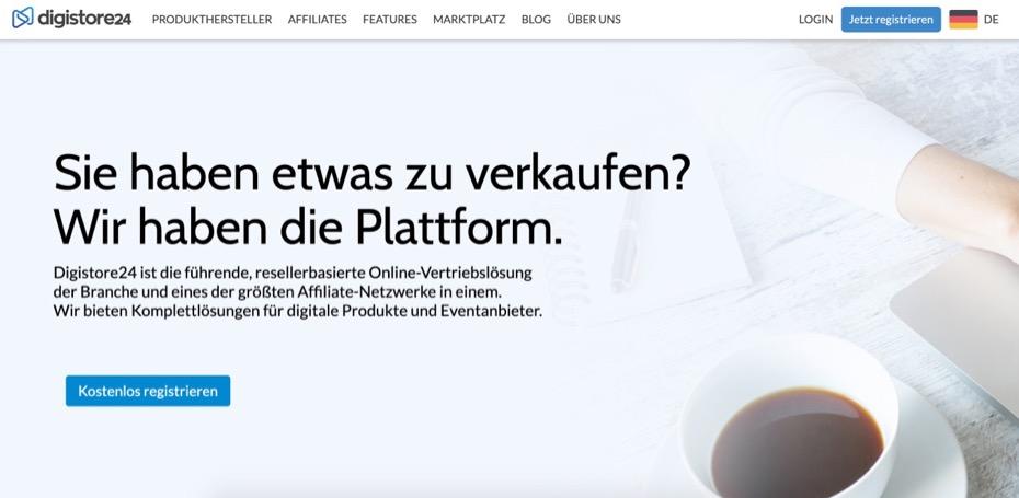 Digistore24 ist die führende, resellerbasierte Online-Vertriebslösung der Branche und eines der größten Affiliate-Netzwerke in einem.