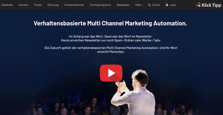 Klick Tipp - Profi-Email-Marketing