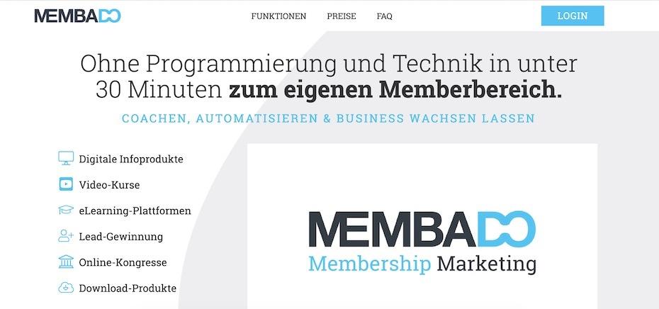 Membado - Membership-Marketing